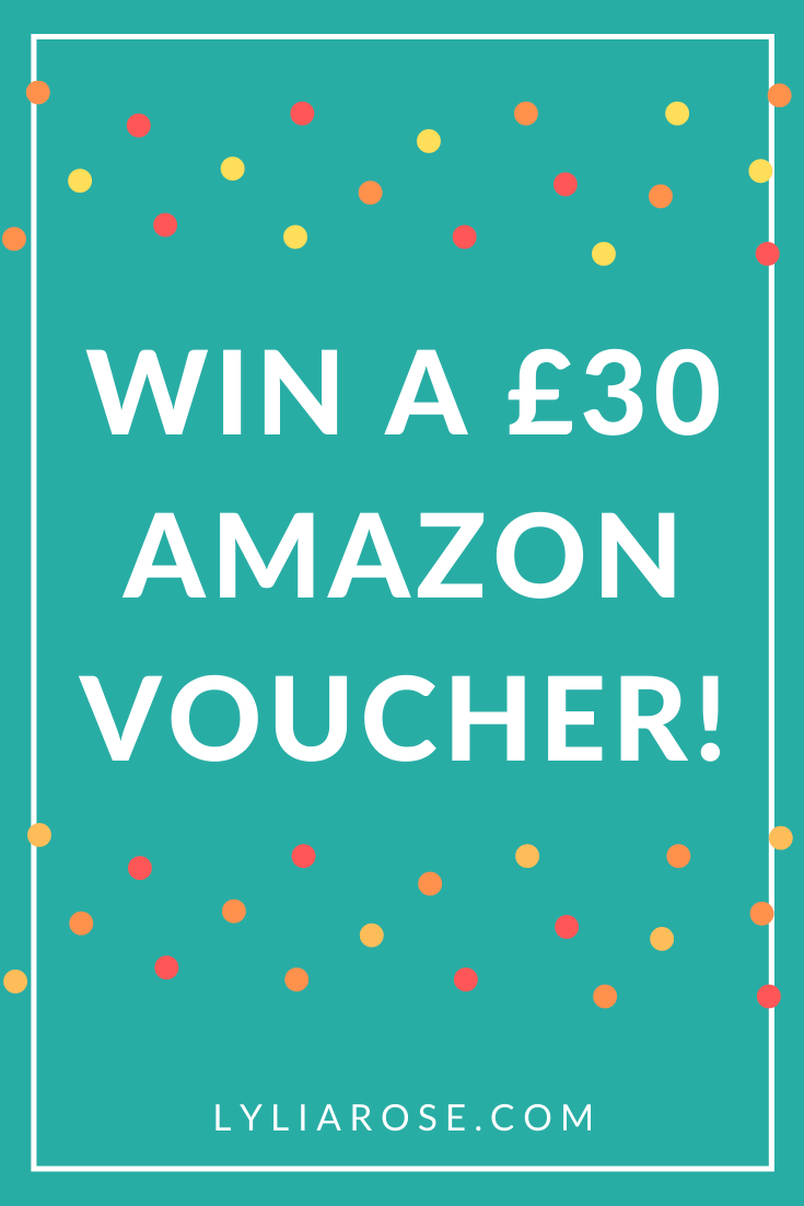 Win a £30 Amazon voucher!