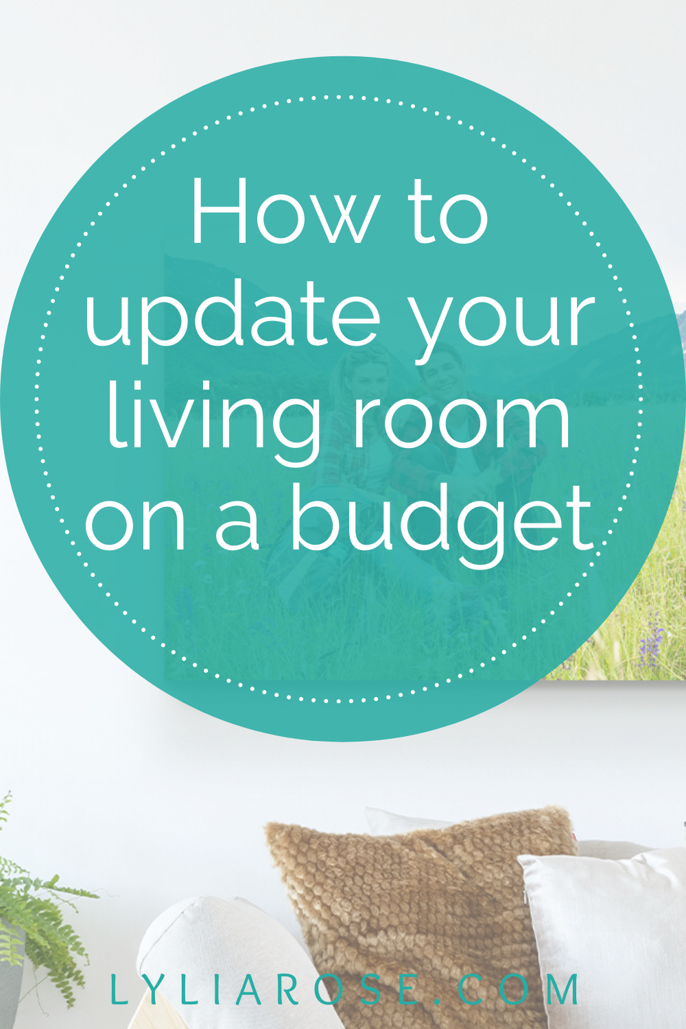 How to update your living room on a budget