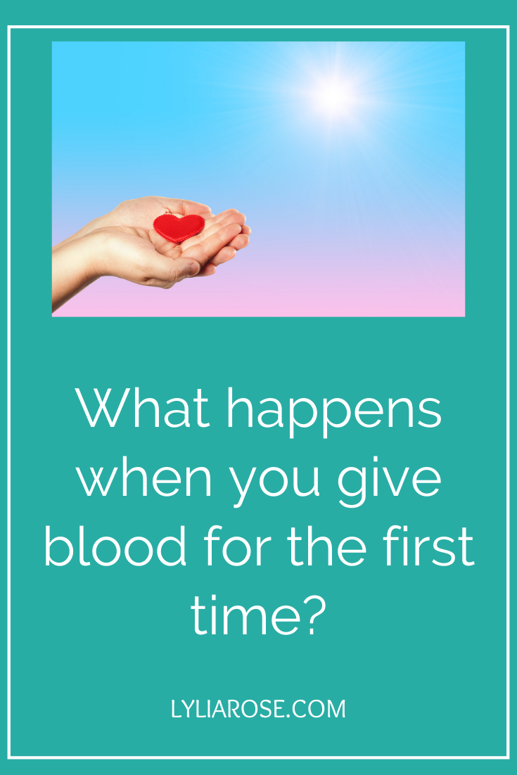What happens when you give blood for the first time_ (1)