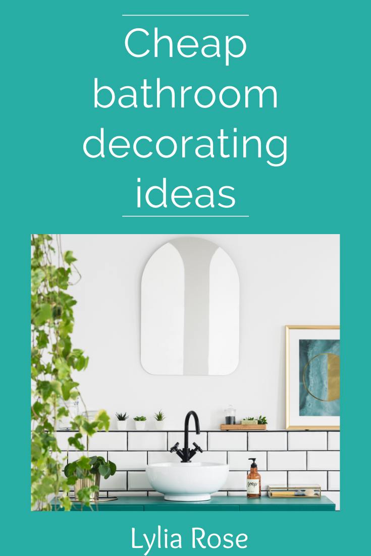 Cheap bathroom decorating ideas (1)