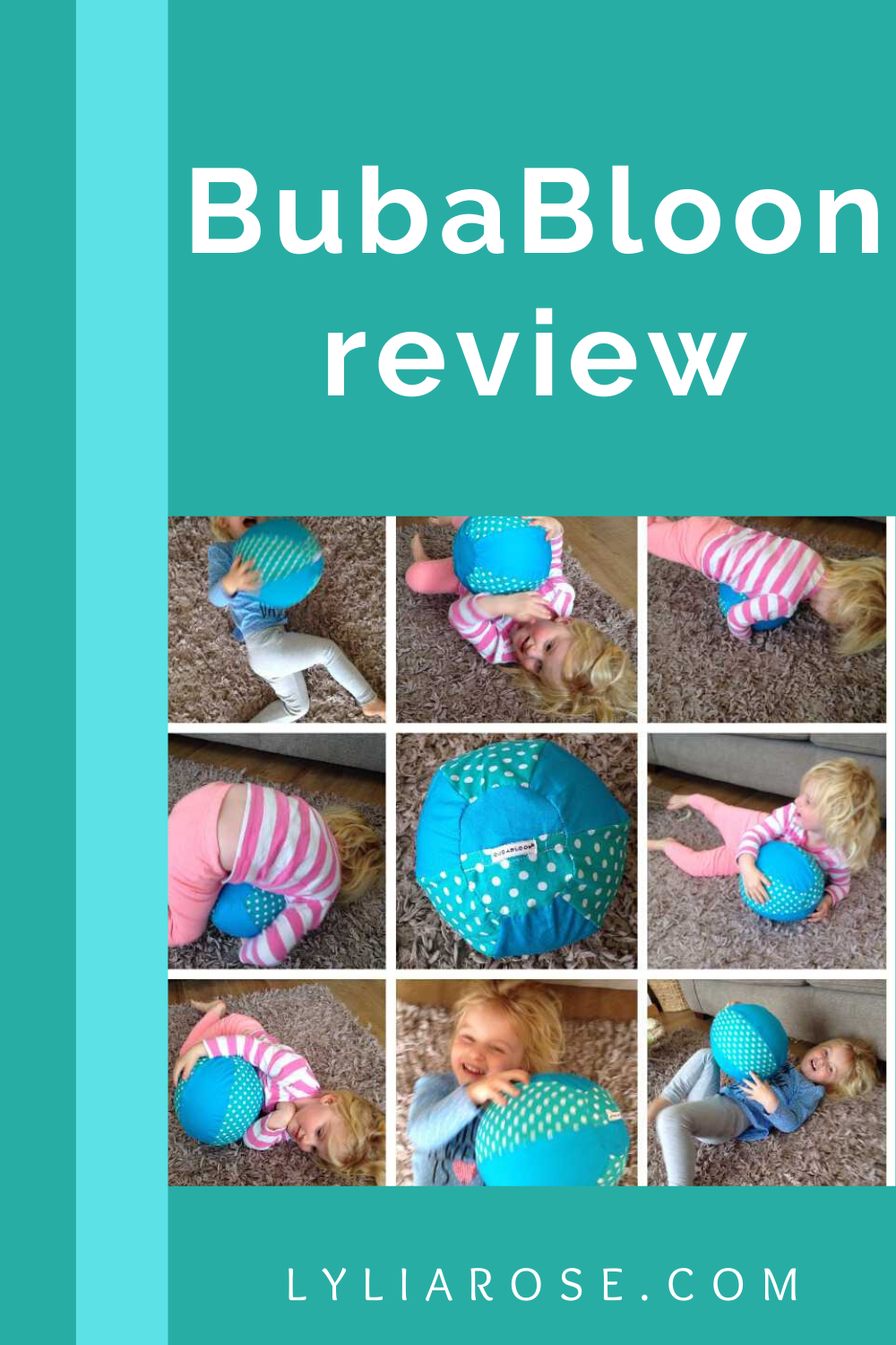 BubaBloon review - fabric balloon cover for safety