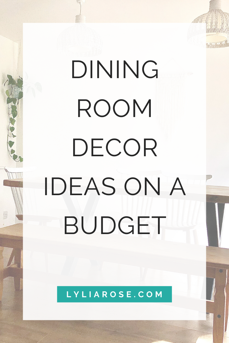 Dining room decor ideas on a budget (1)