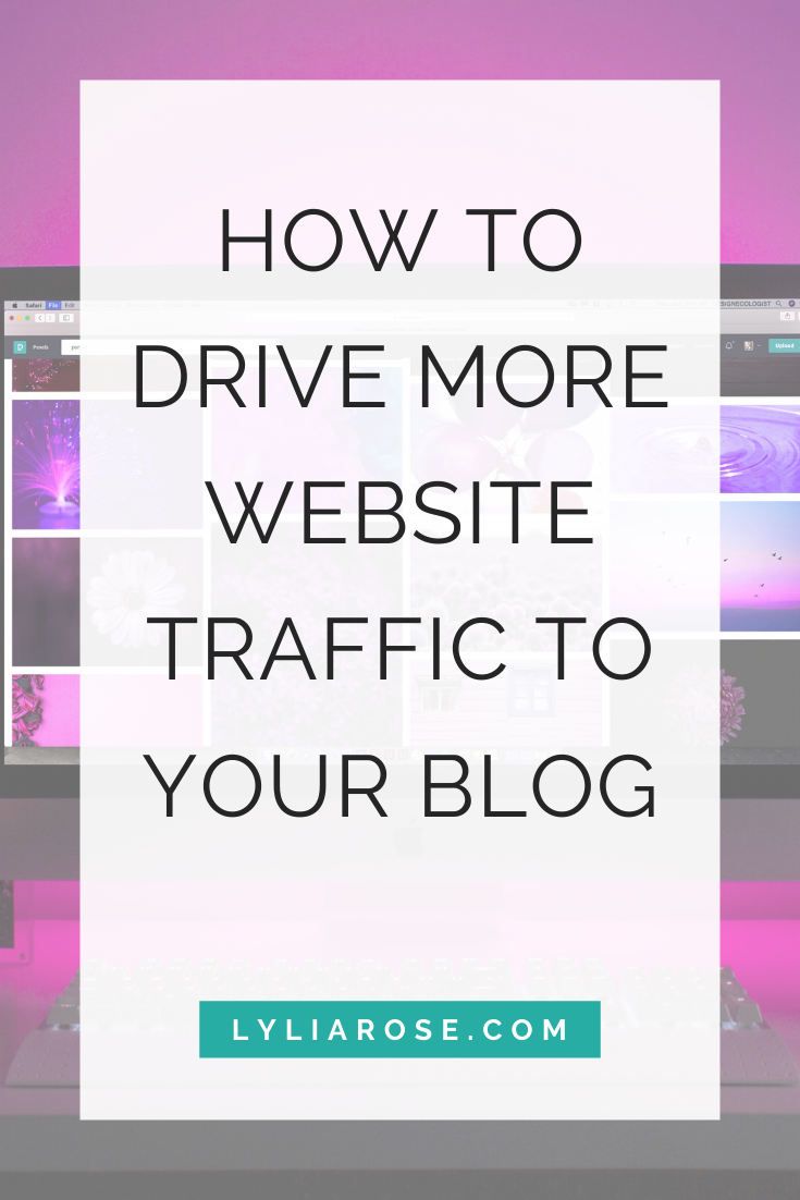 How to drive more website traffic to your blog