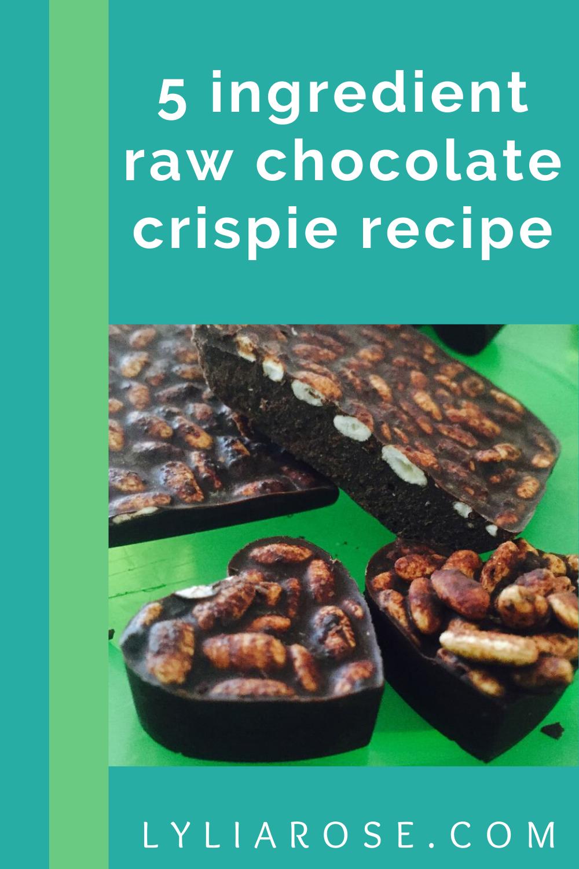 Vegan homemade raw chocolate crispie recipe (2)