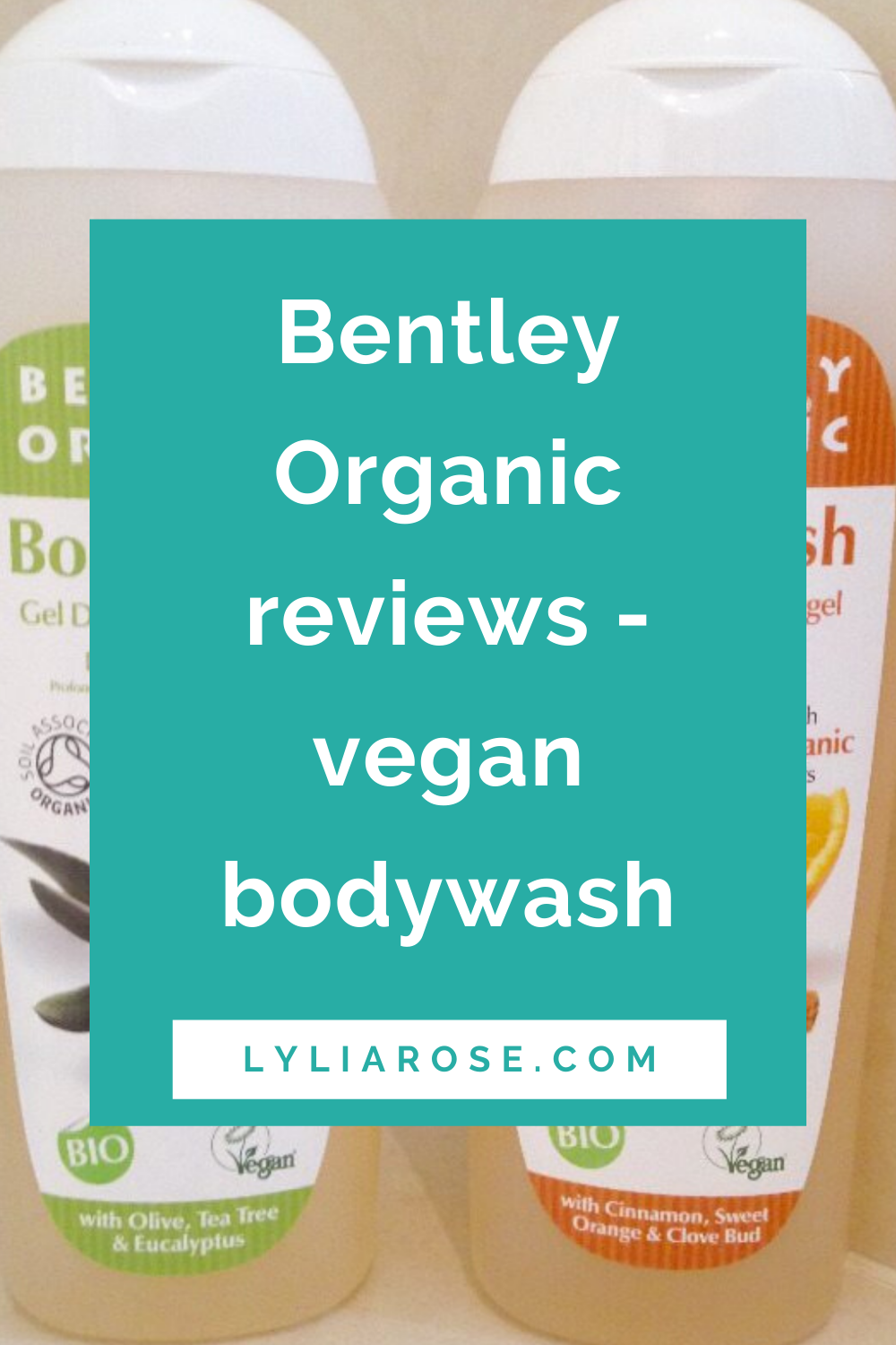 Bentley Organic reviews - vegan bodywash