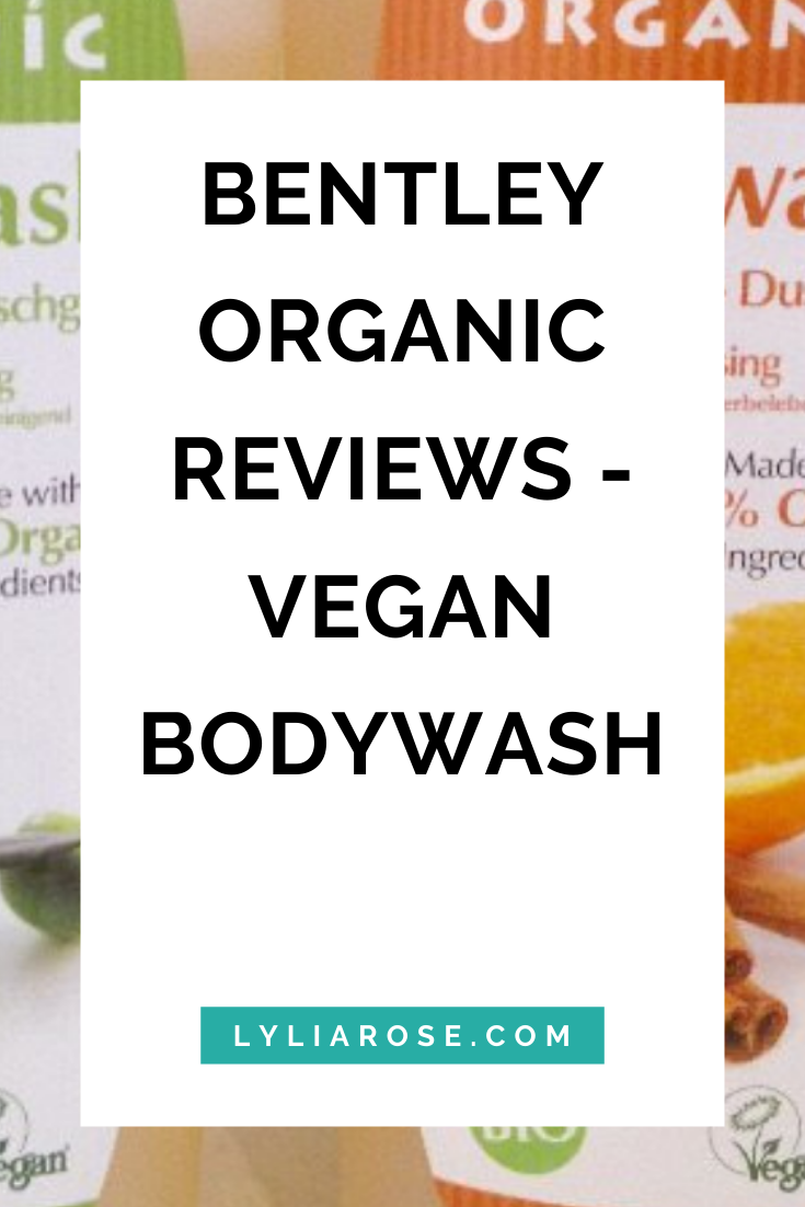 Bentley Organic reviews - organic vegan bodywash (1)