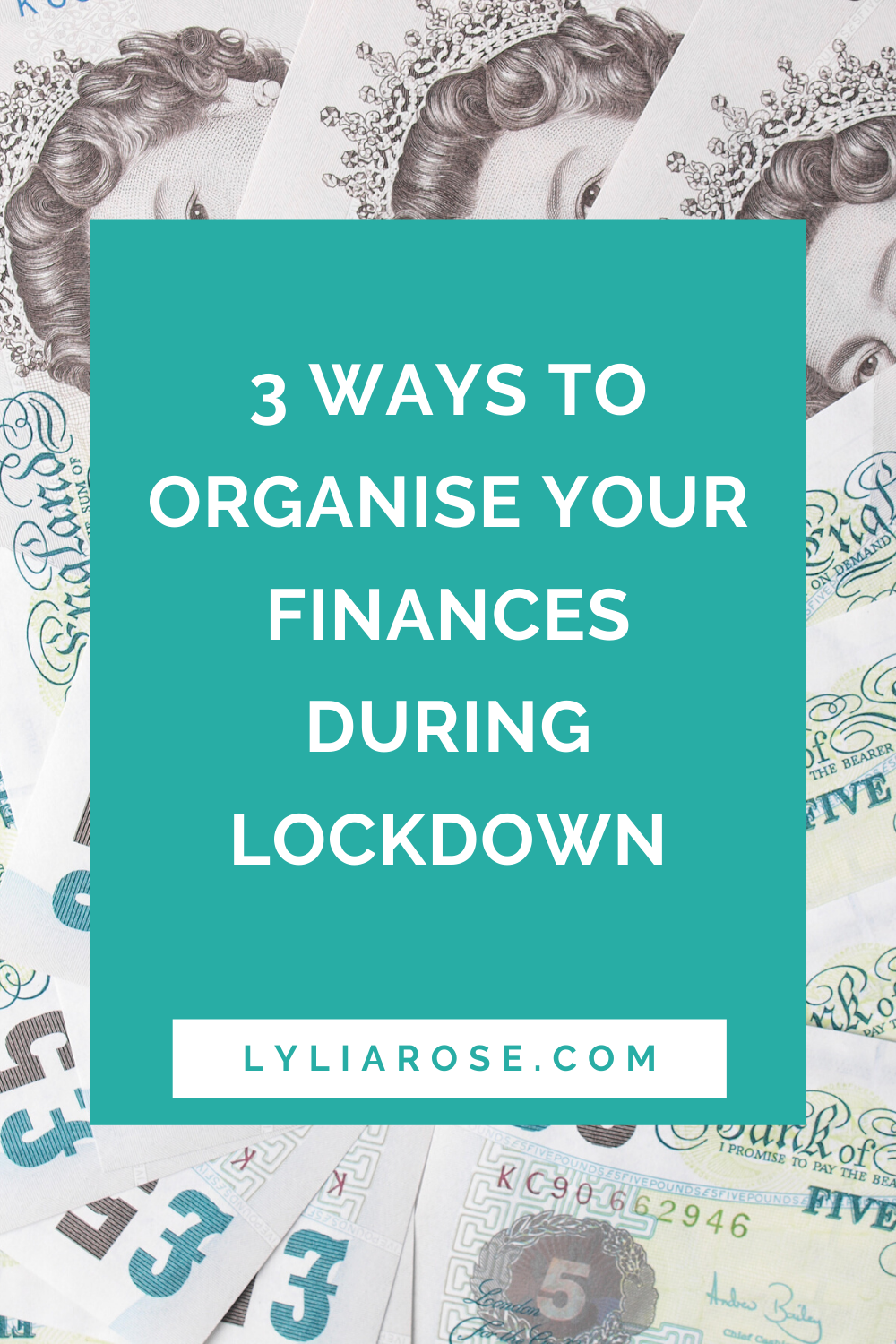 3 ways to organise your finances during lockdown