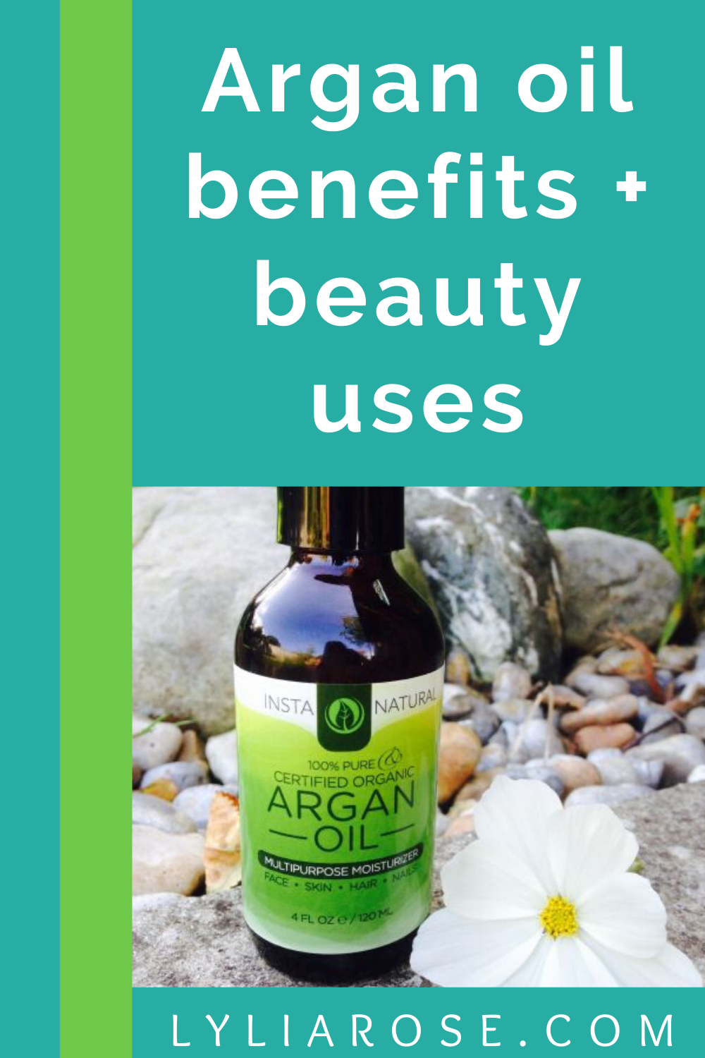 Argan oil benefits + beauty uses