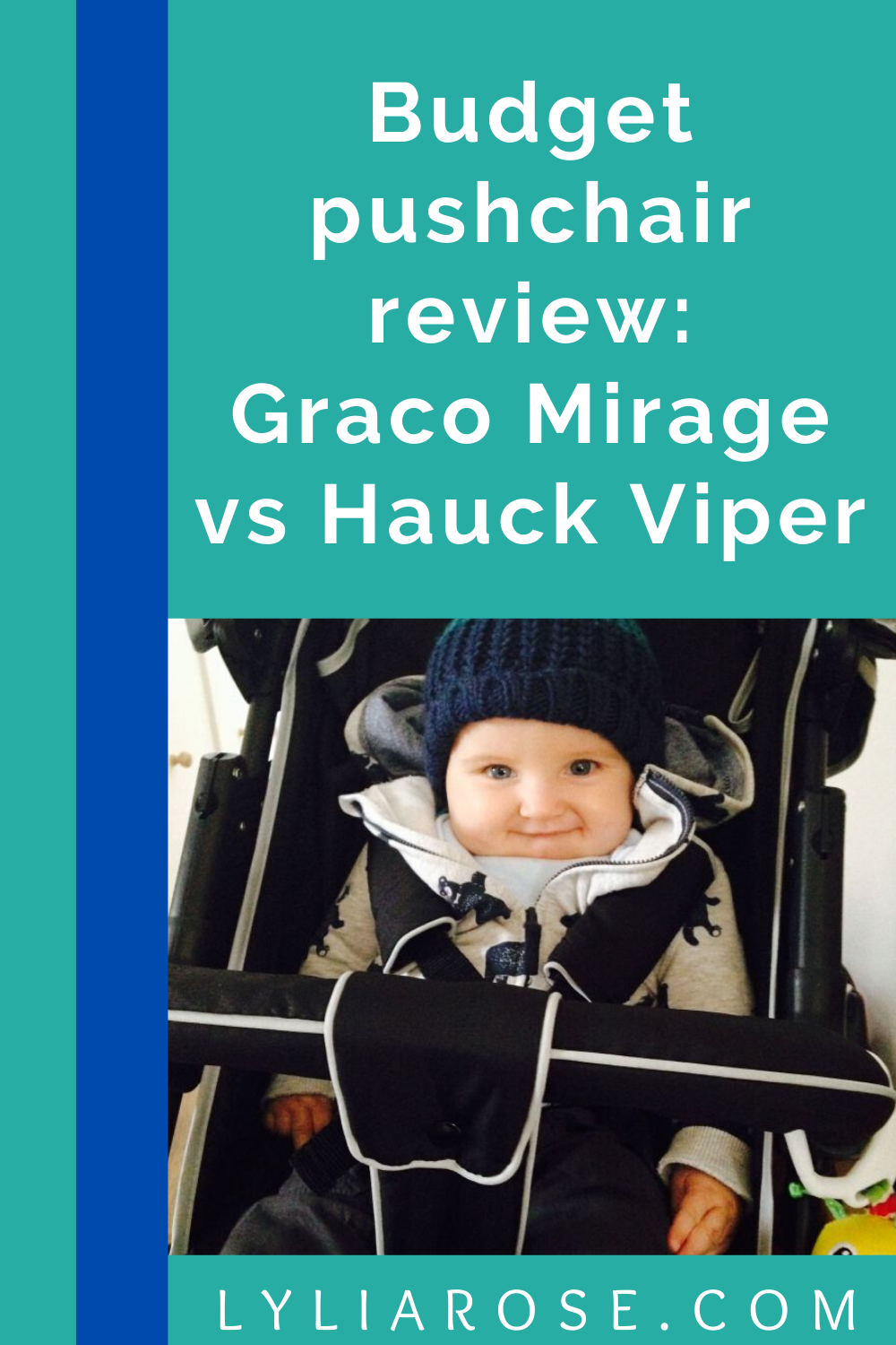 Budget pushchair review_ Graco Mirage vs Hauck Viper (1)