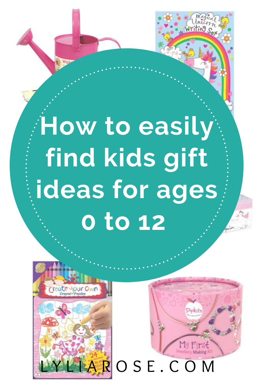 How to easily find kids gift ideas for ages 0 to 12