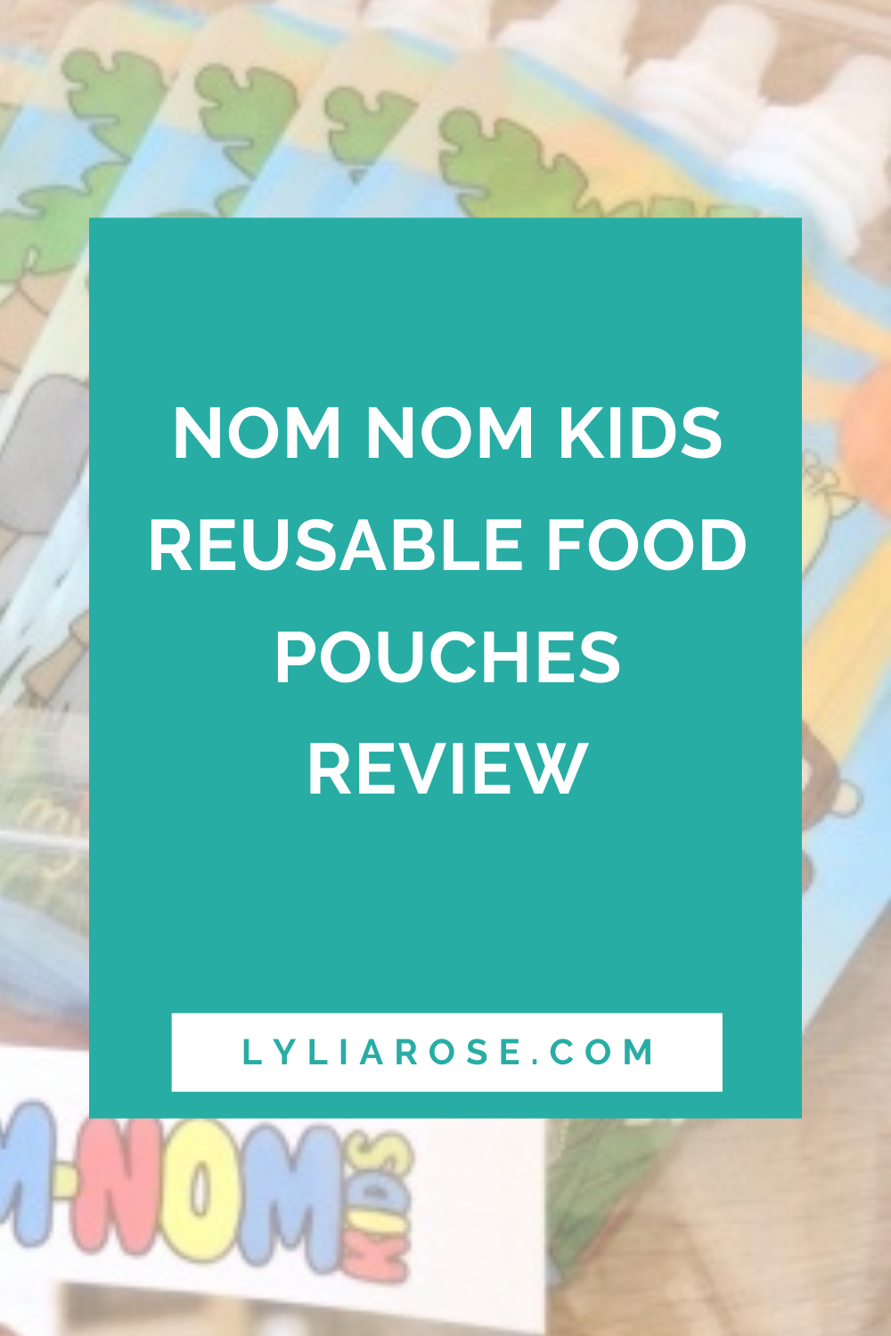 Nom Nom Kids reusable food pouches review