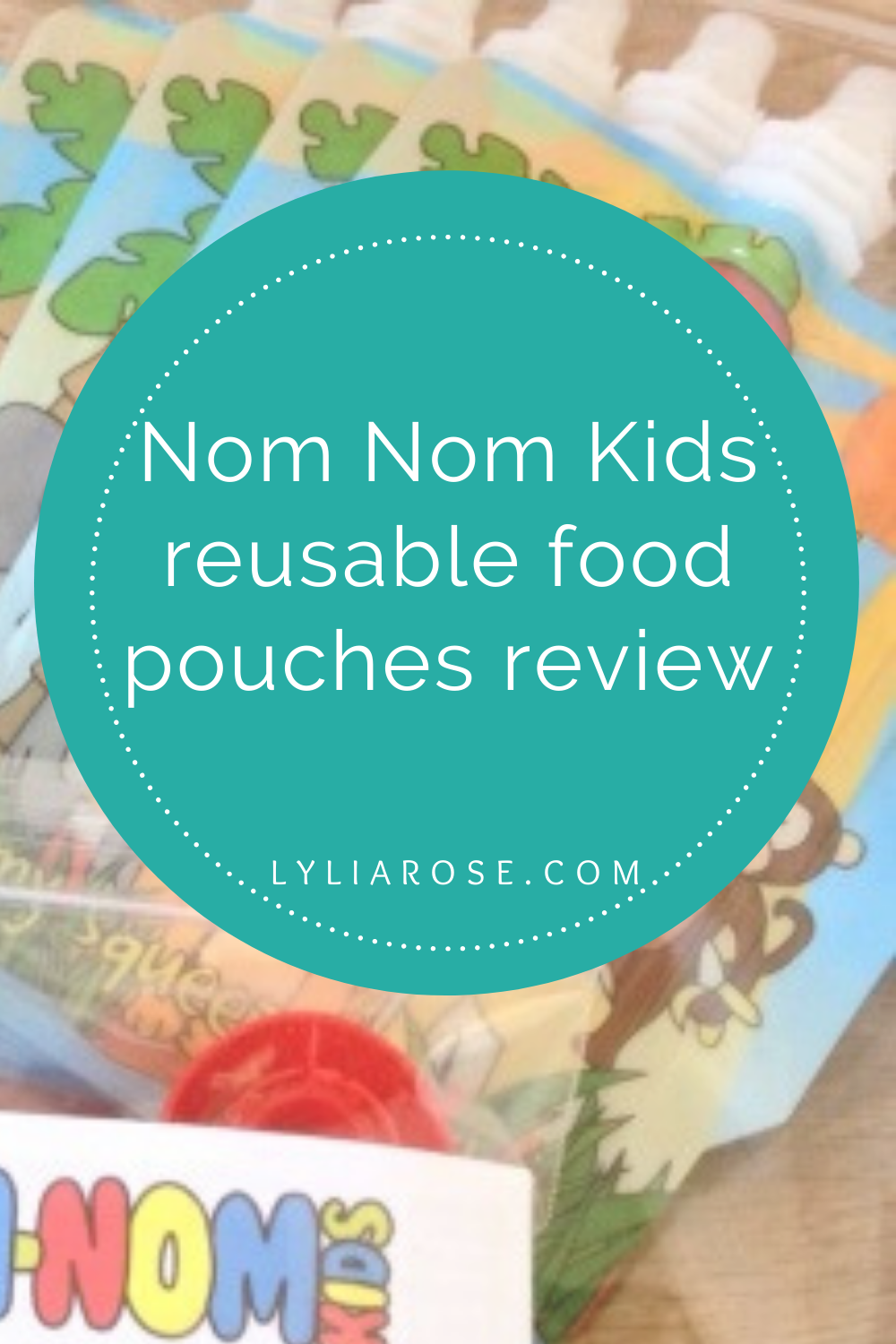Nom Nom Kids reusable food pouches review (2)