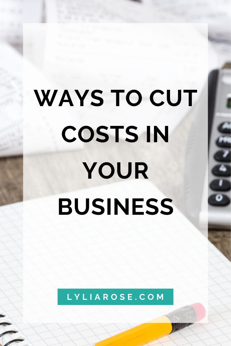 Ways to cut costs in your business (1)