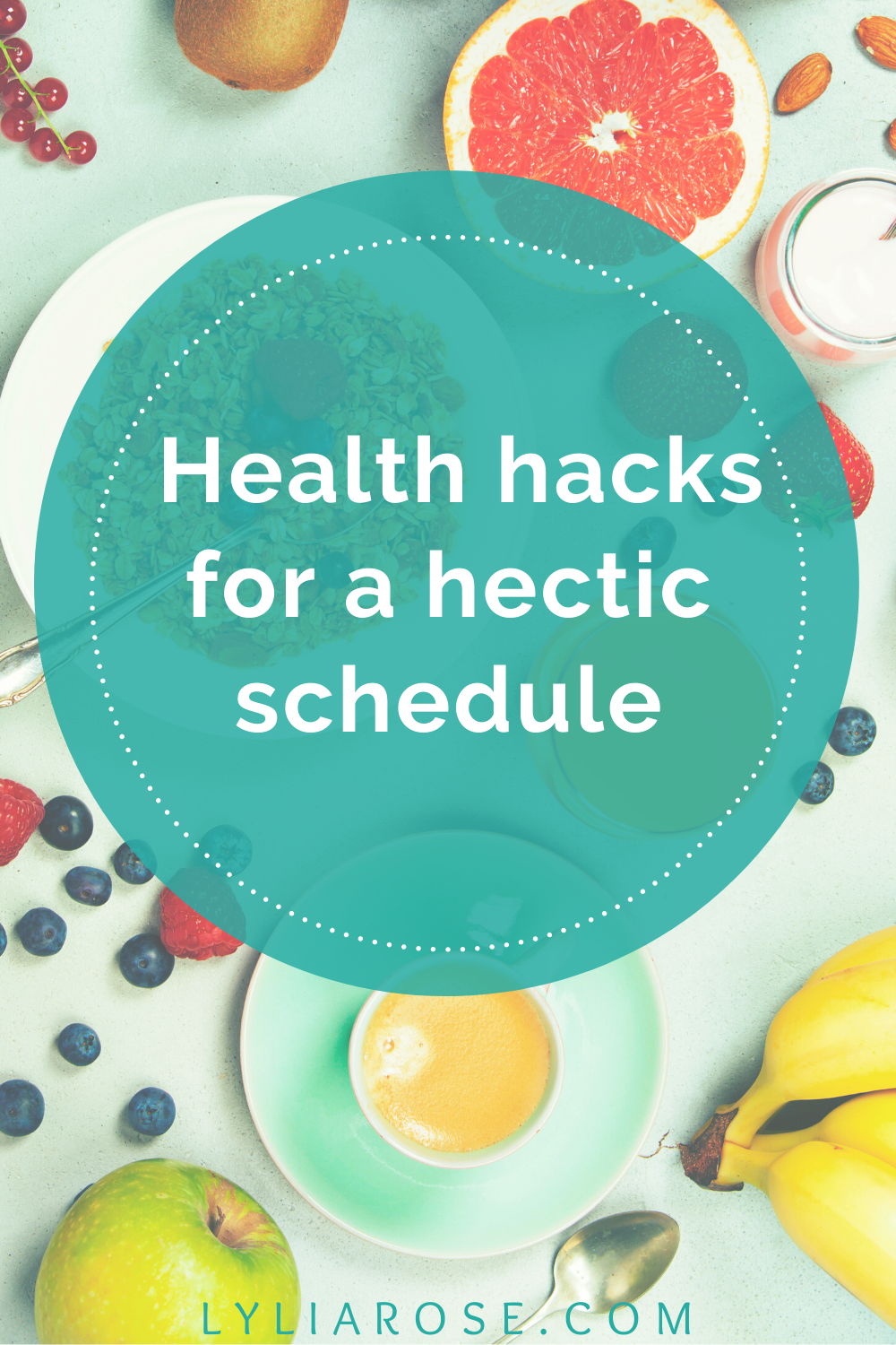_Health hacks for a hectic schedule