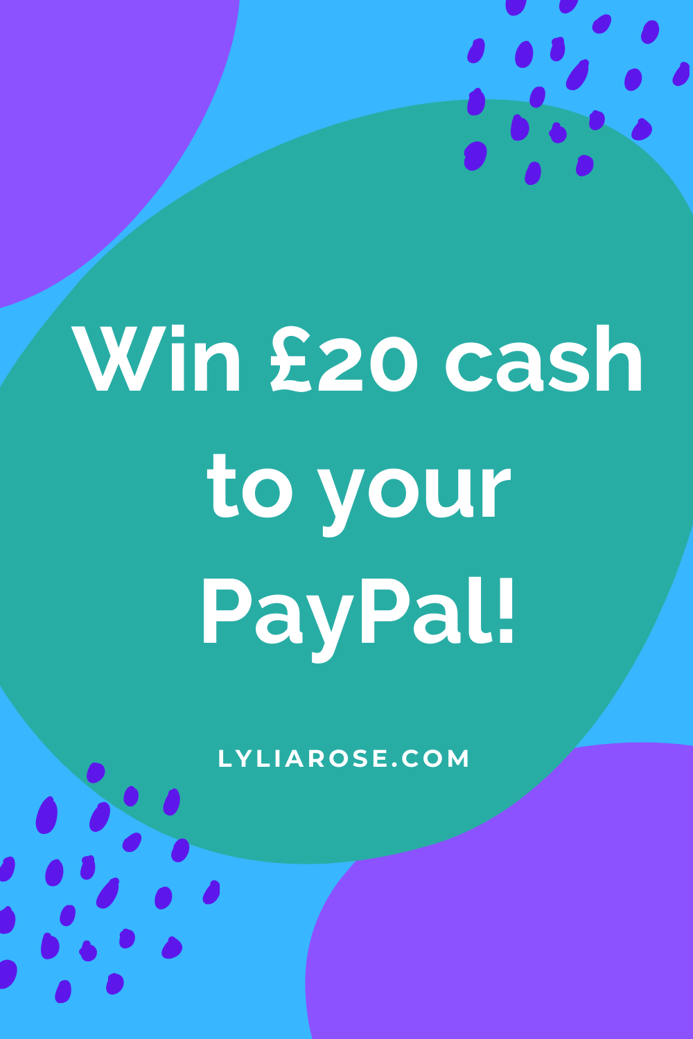 Win £20 cash to your PayPal!