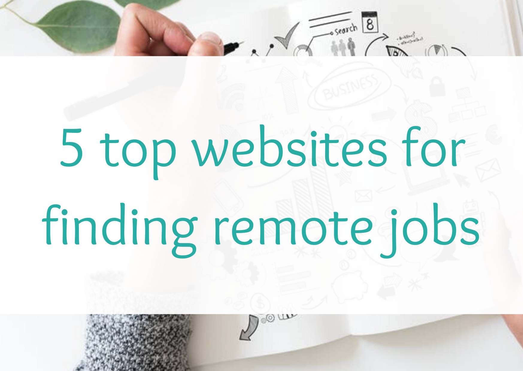 5 top websites for finding remote jobs