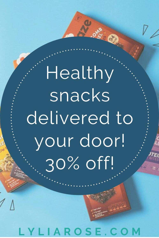 Graze discount code 30% off _ Healthy snacks delivered to your door (3)