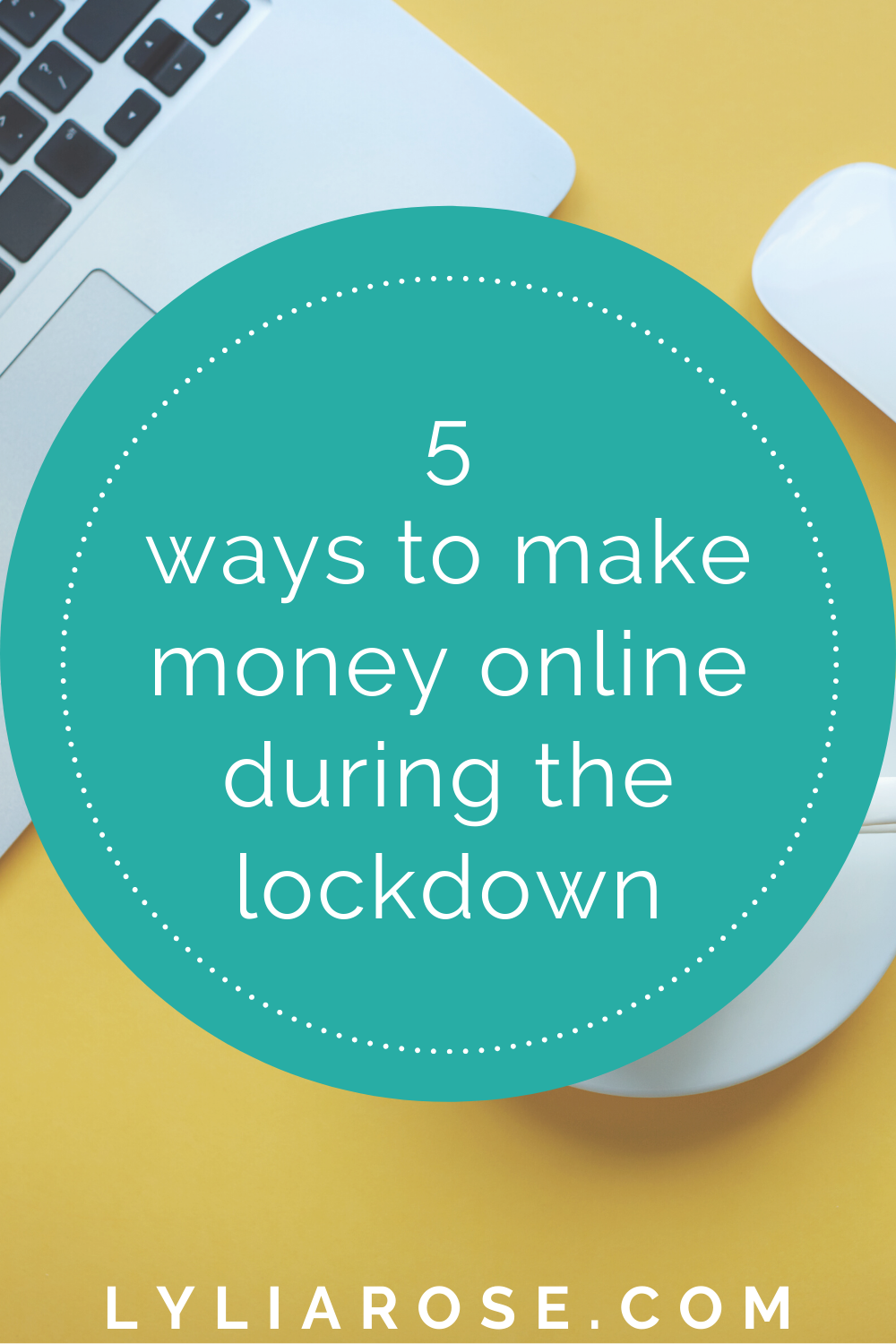 5 ways to make money online during the lockdown