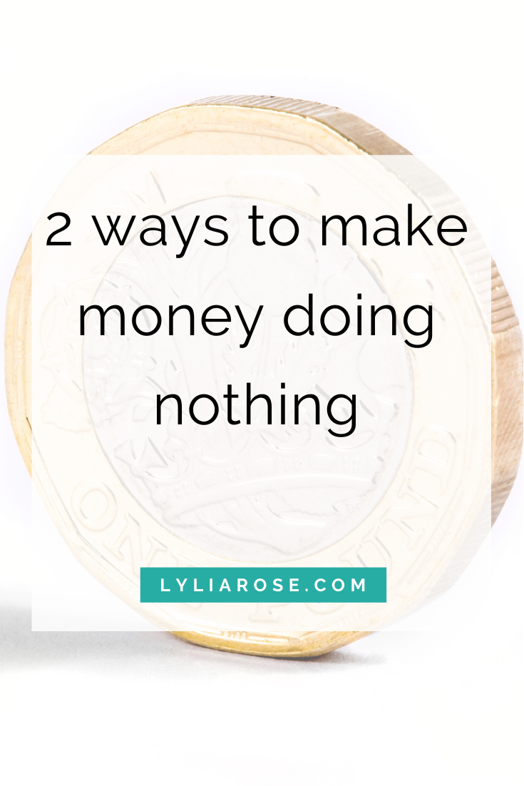 How to make money online for free, doing nothing