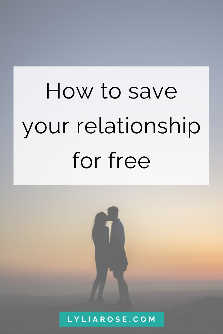 How to save your relationship for free (3)