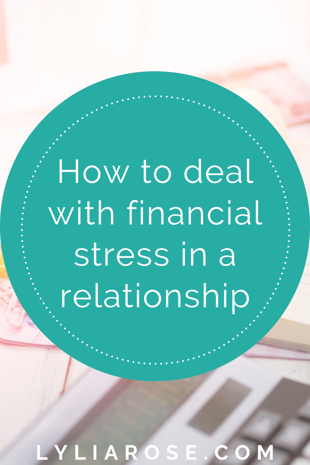 How to deal with financial stress in a relationship (1)