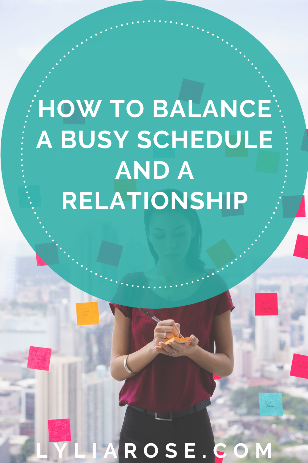How to balance a busy schedule and a relationship (1)