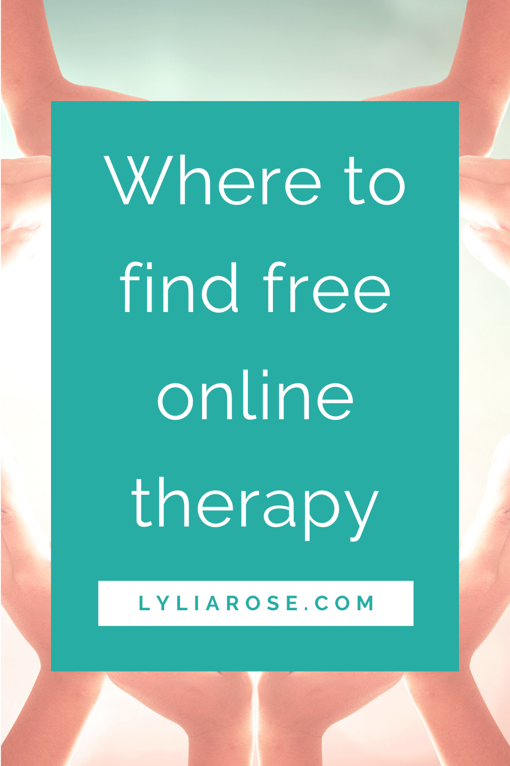 Where to find free online therapy