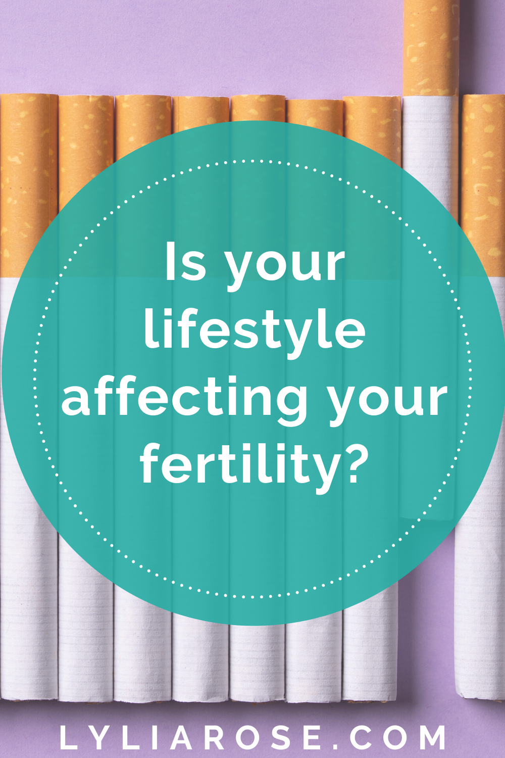 Is your lifestyle affecting your fertility_