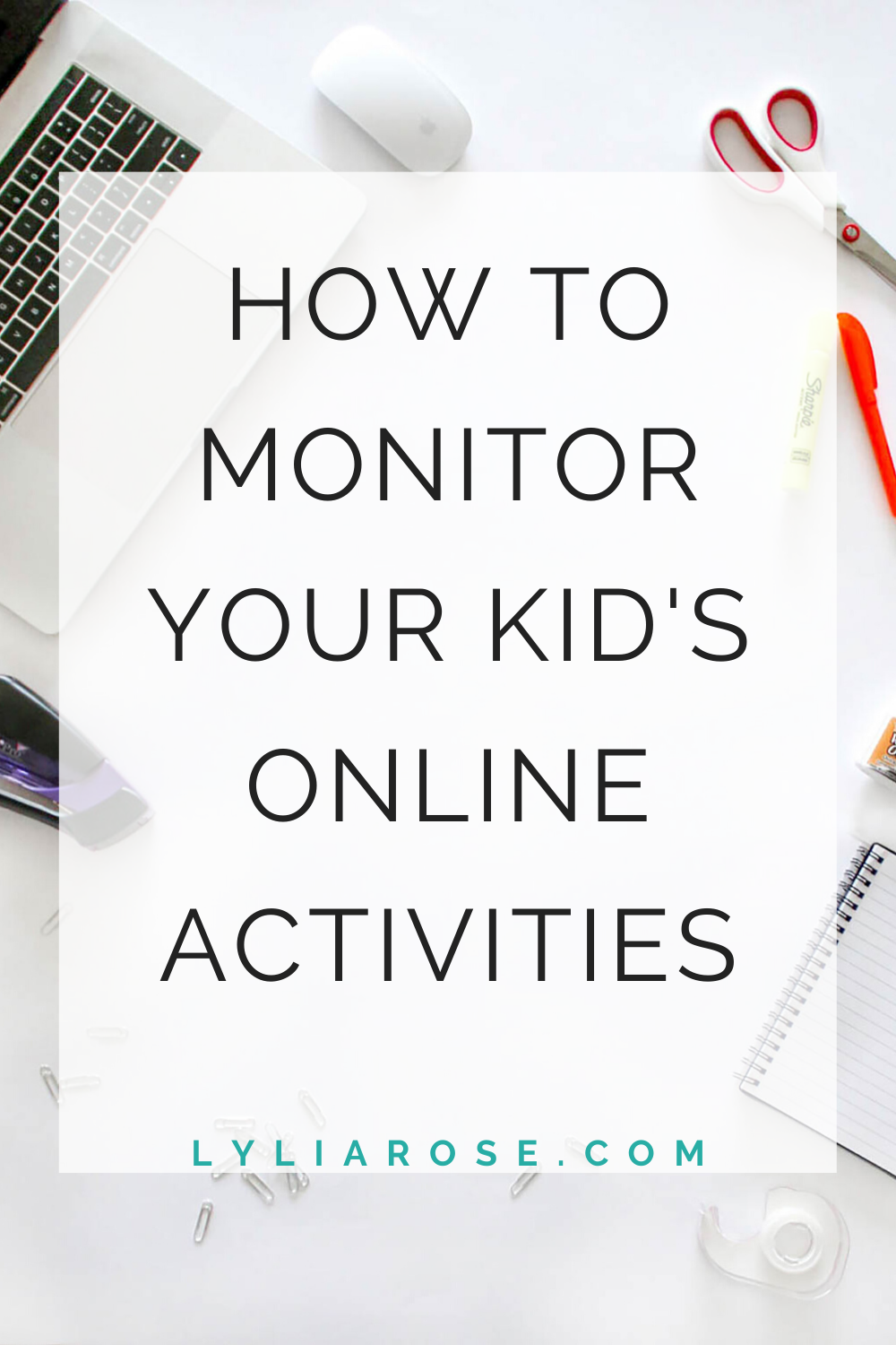 How to monitor your kids online activities