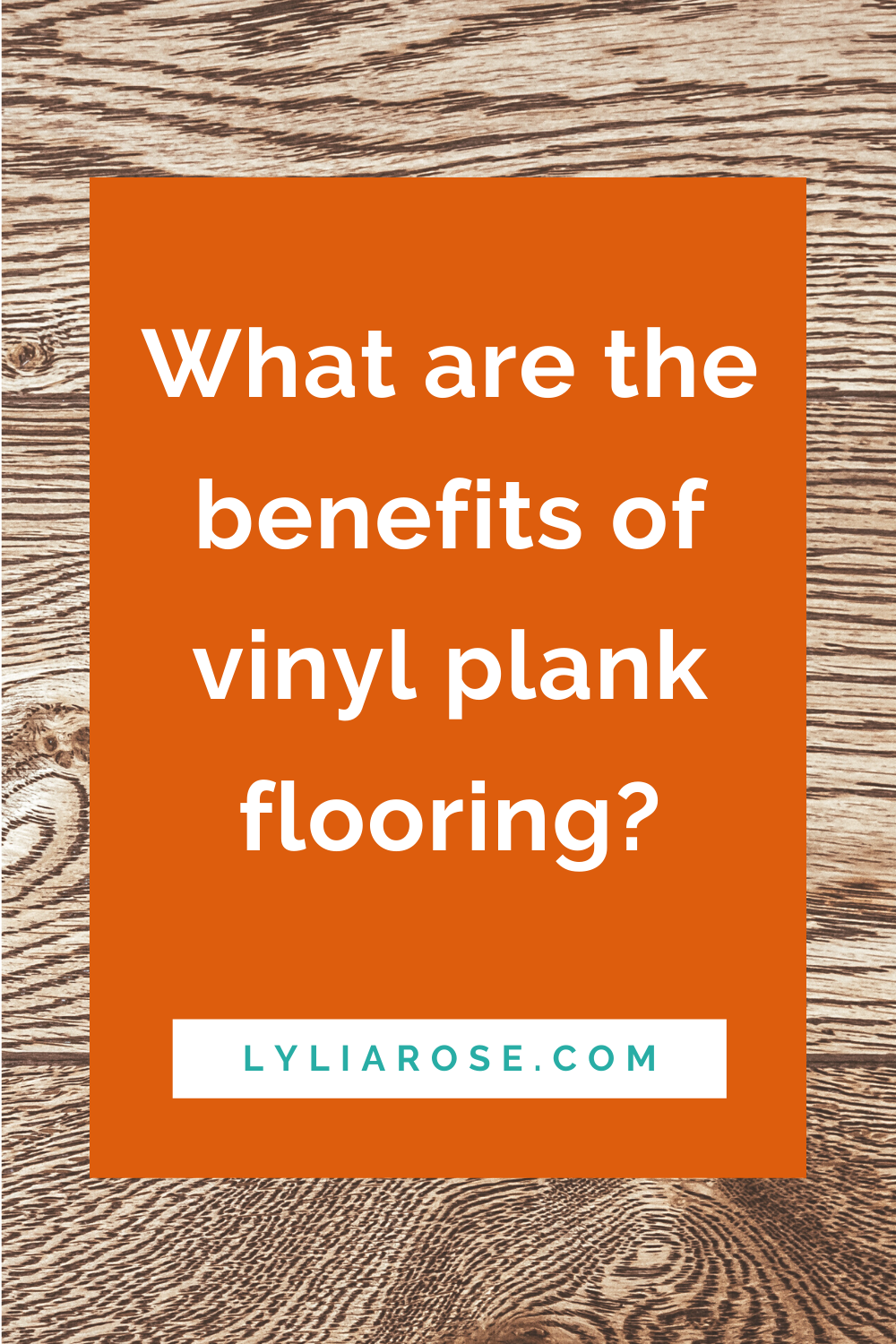 What are the benefits of vinyl plank flooring_
