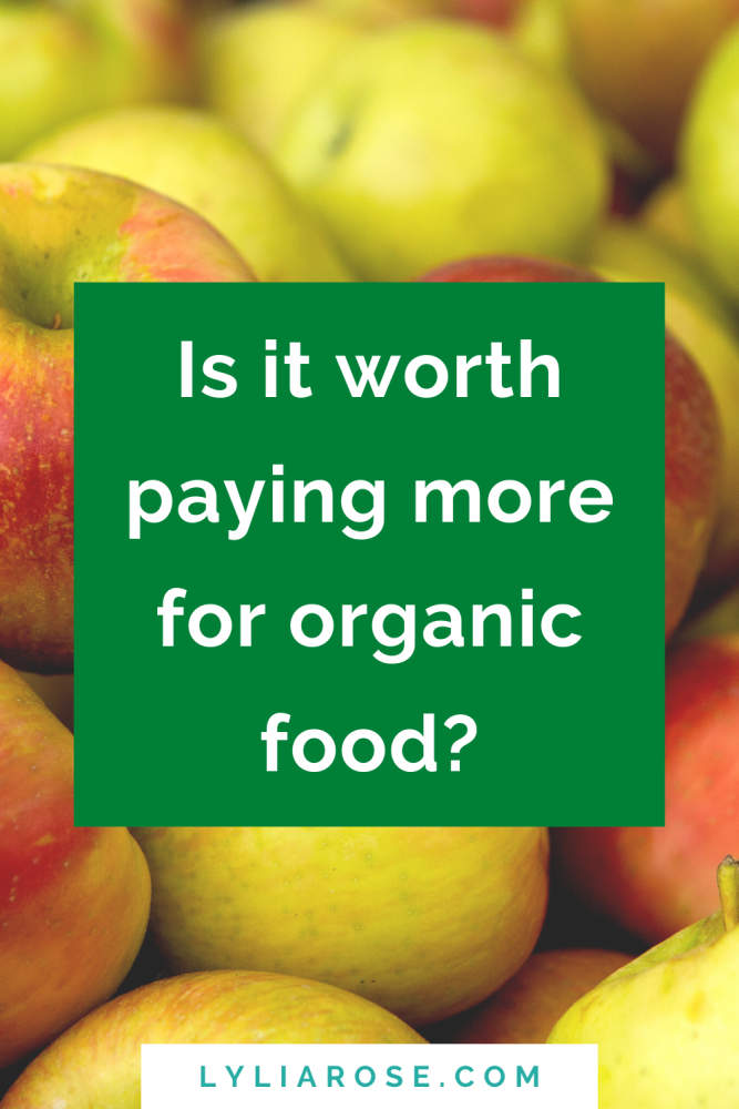 Is it worth paying more for organic food_