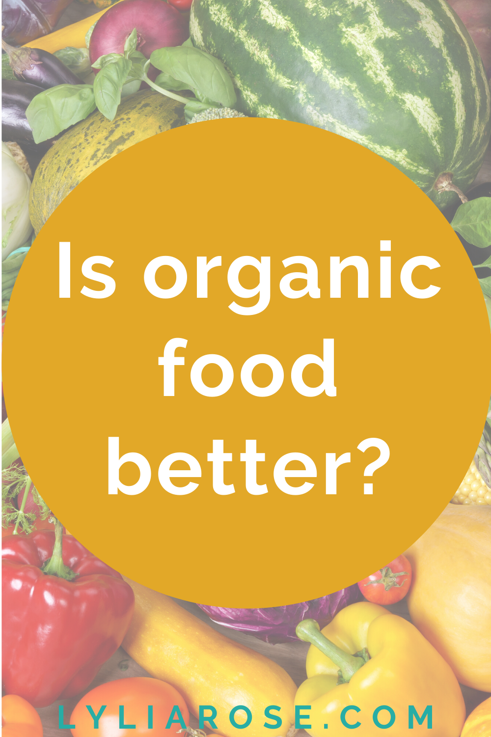 Is organic food better_
