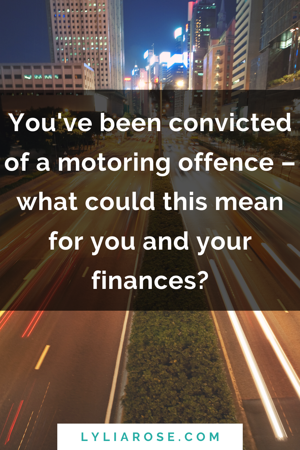 So, youve been convicted of a motoring offence – what could this mean for