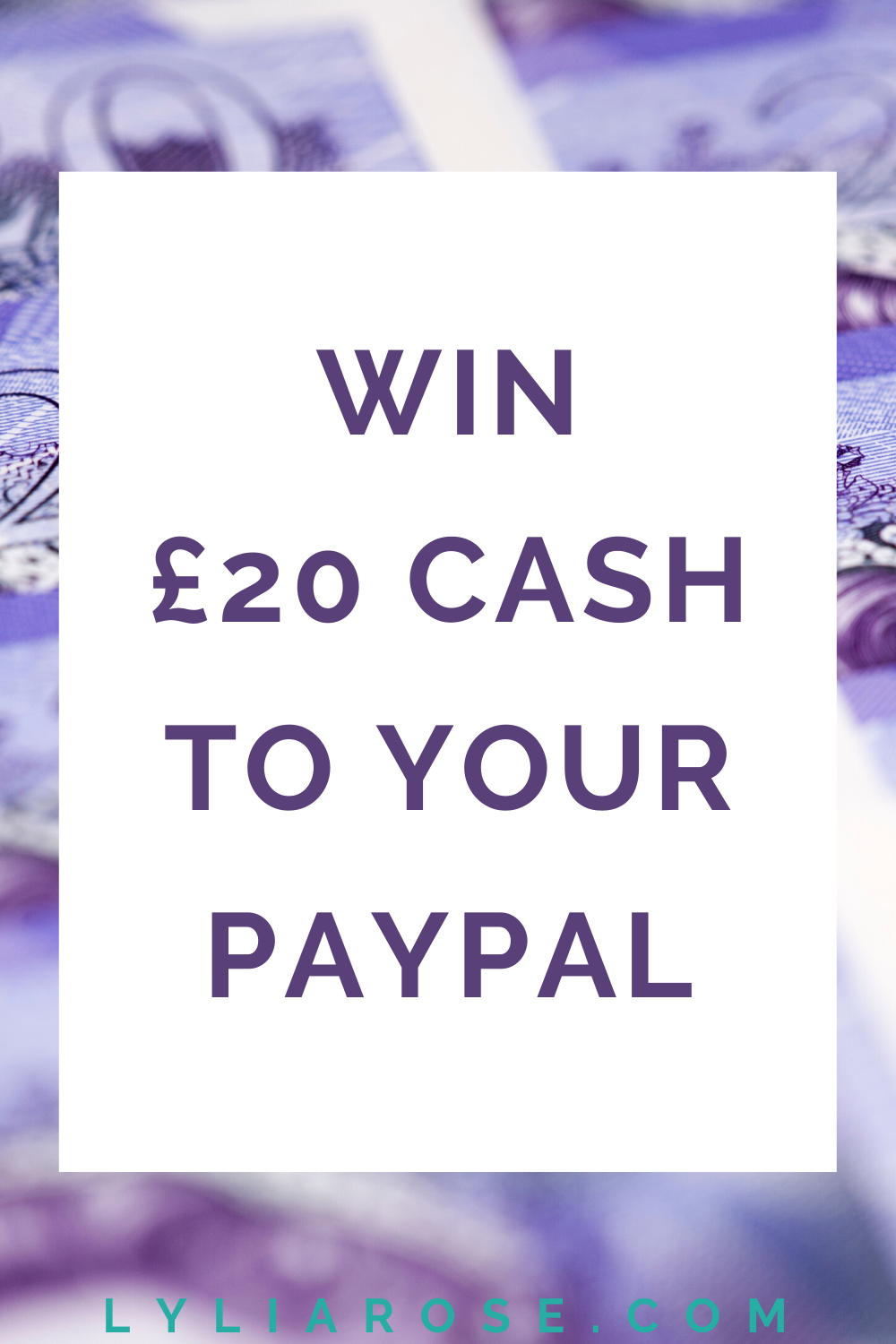 Win cash to your paypal