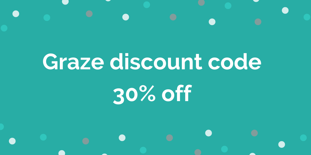 Graze discount code 30% off