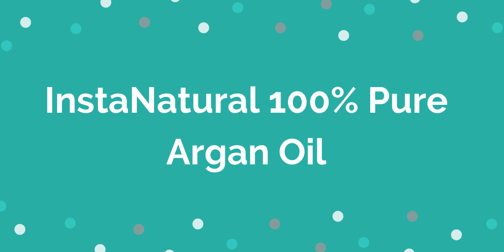 InstaNatural 100% Pure Argan Oil