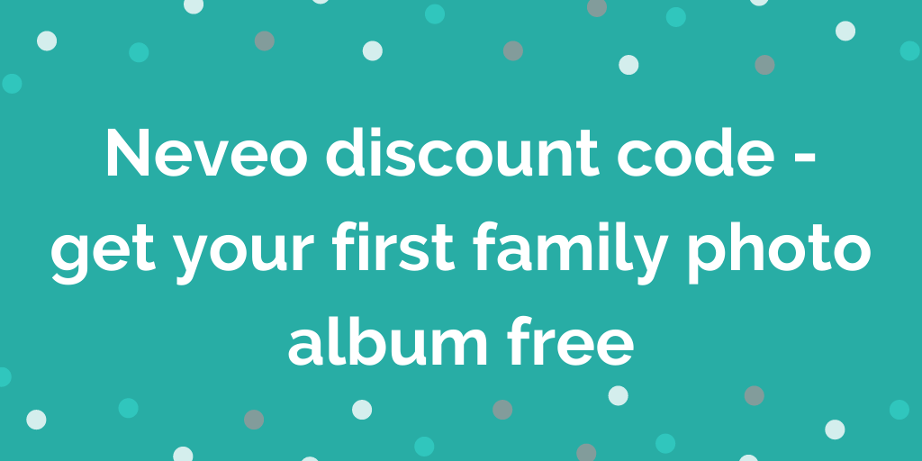 Neveo discount code - get your first family photo album free