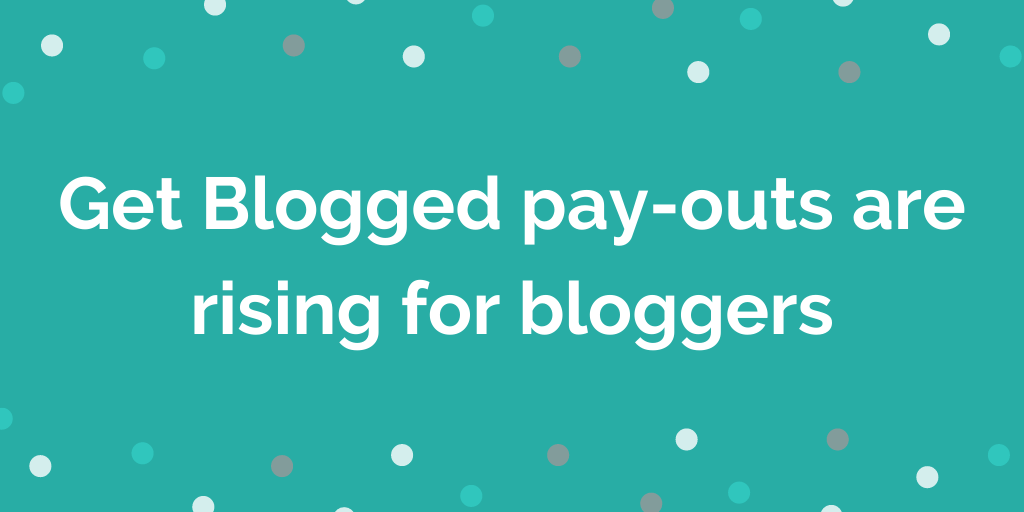 make money blogging with get  blogged