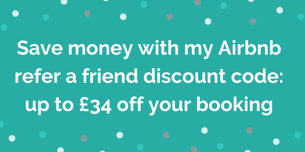 Save money with my Airbnb refer a friend discount code_ up to £34 off your
