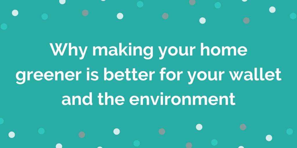 Why making your home greener is better for your wallet and the environment