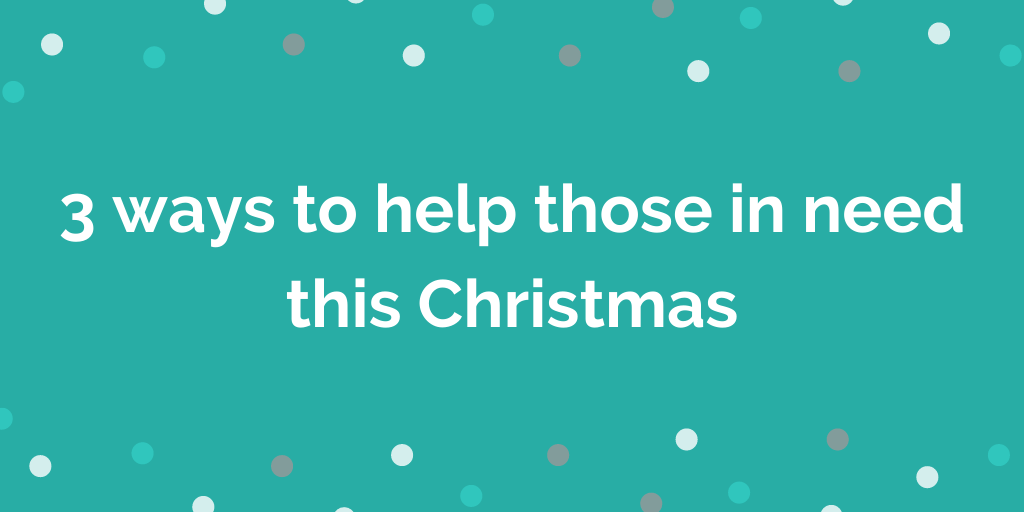 3 ways to help those in need this Christmas