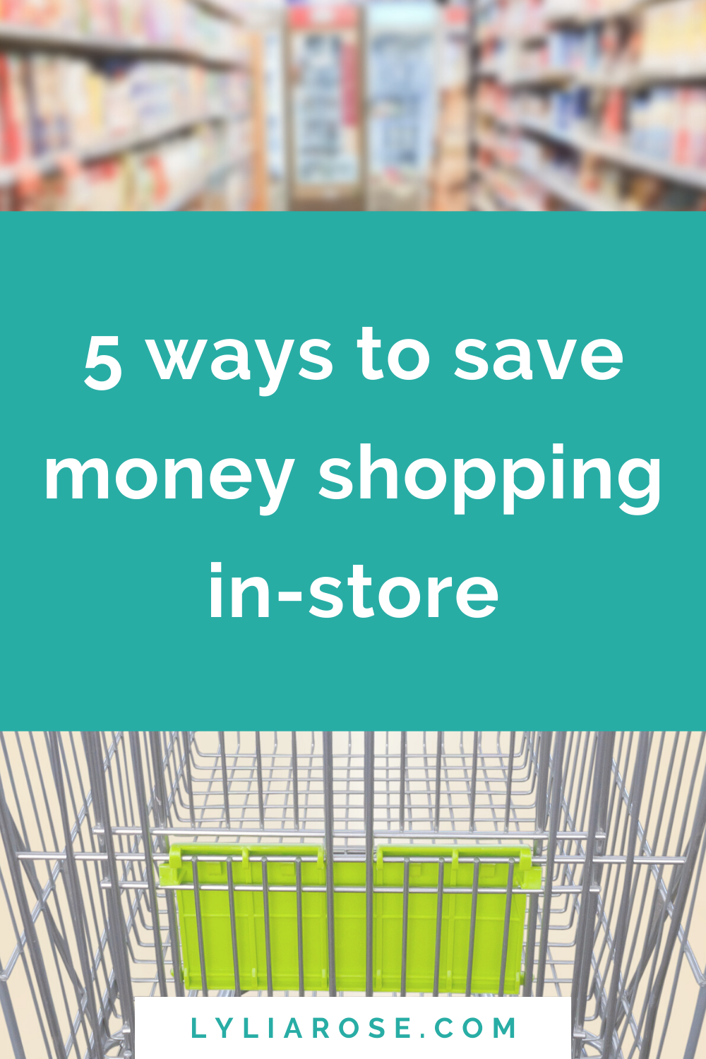 5 ways to save money shopping in-store