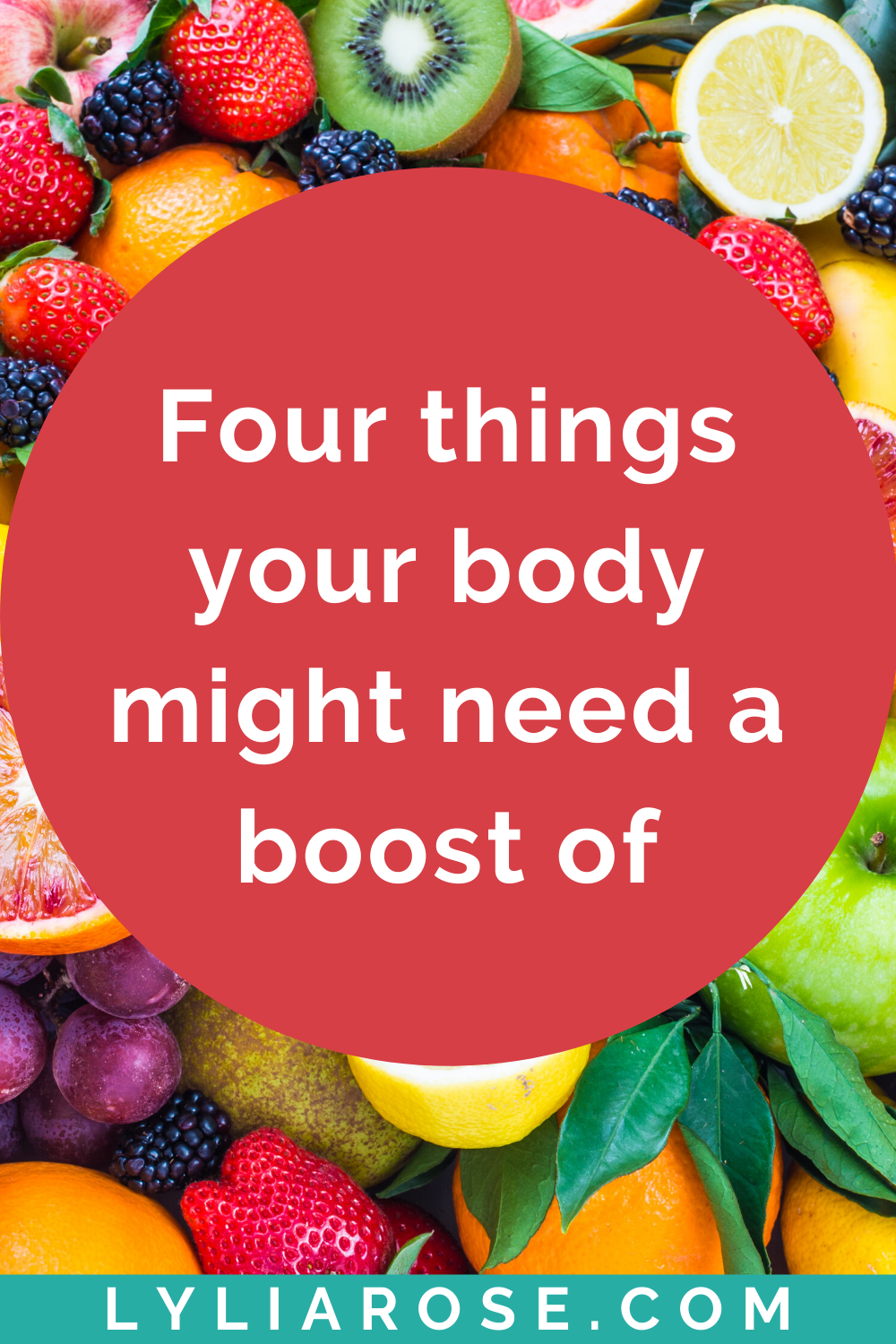 Four things your body might need a boost of (1)