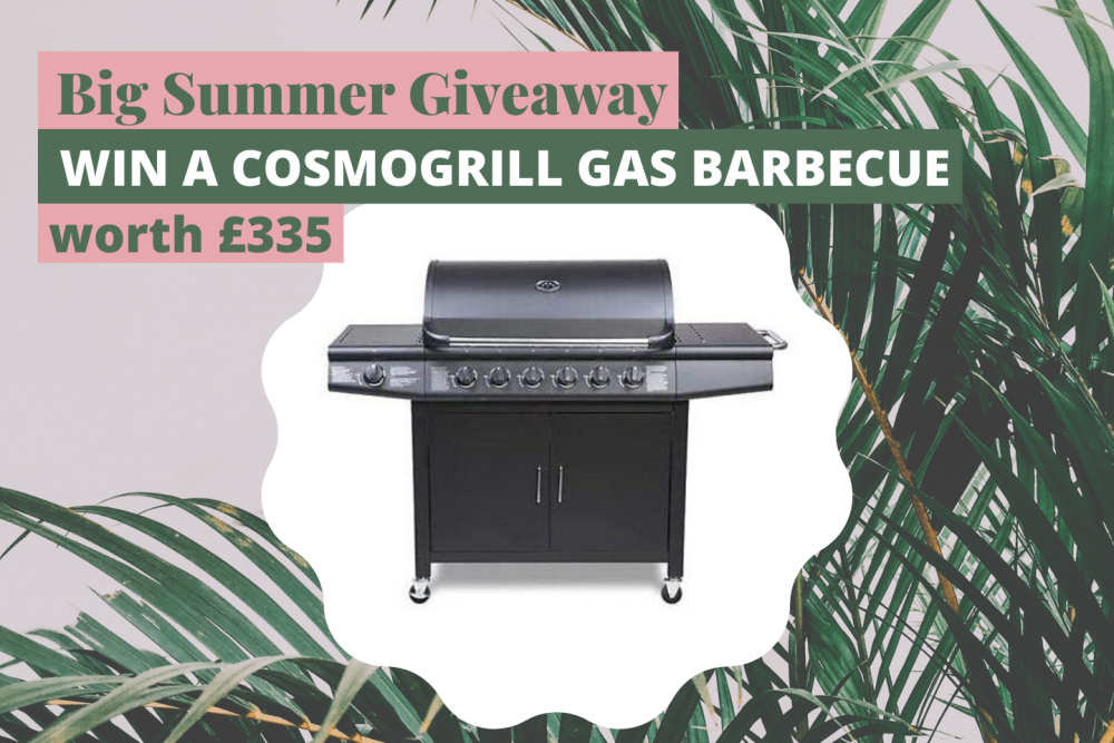 Big summer giveaway Win a Cosmogrill Gas BBQ worth £335