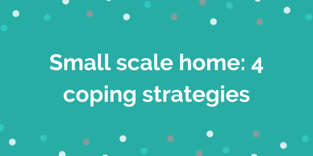 Small scale home_ 4 coping strategies