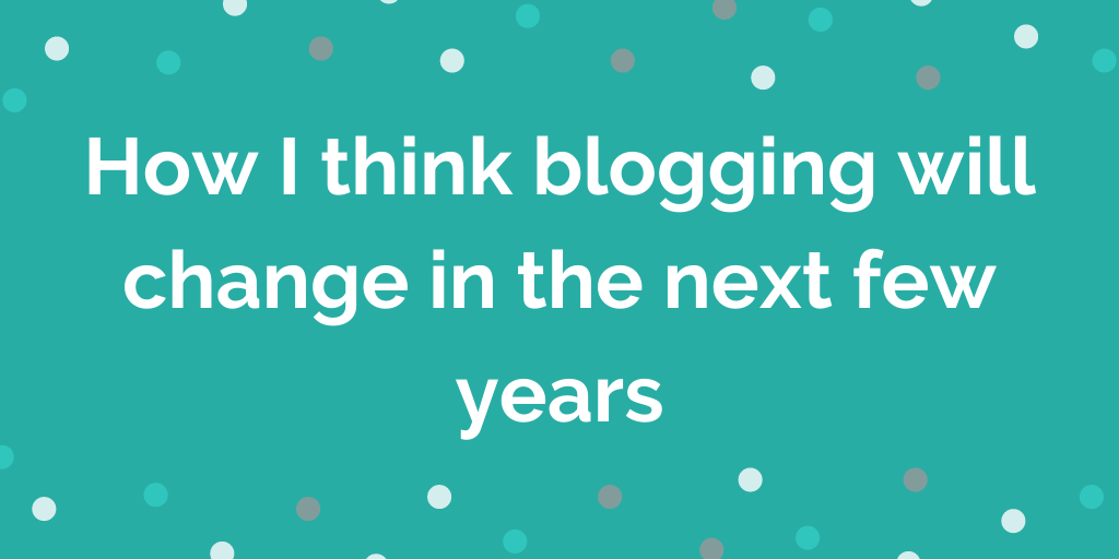 The future of the blogosphere