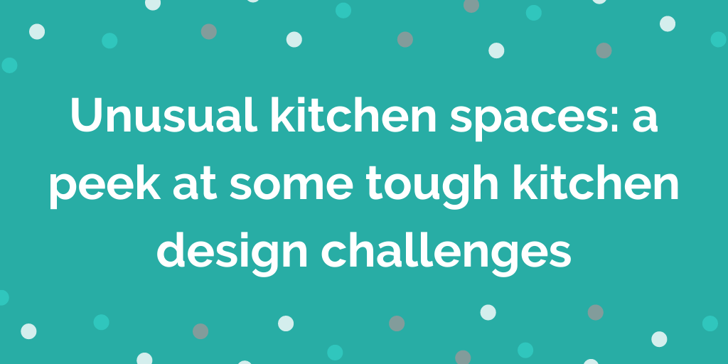 Unusual kitchen spaces_ a peek at some tough kitchen design challenges