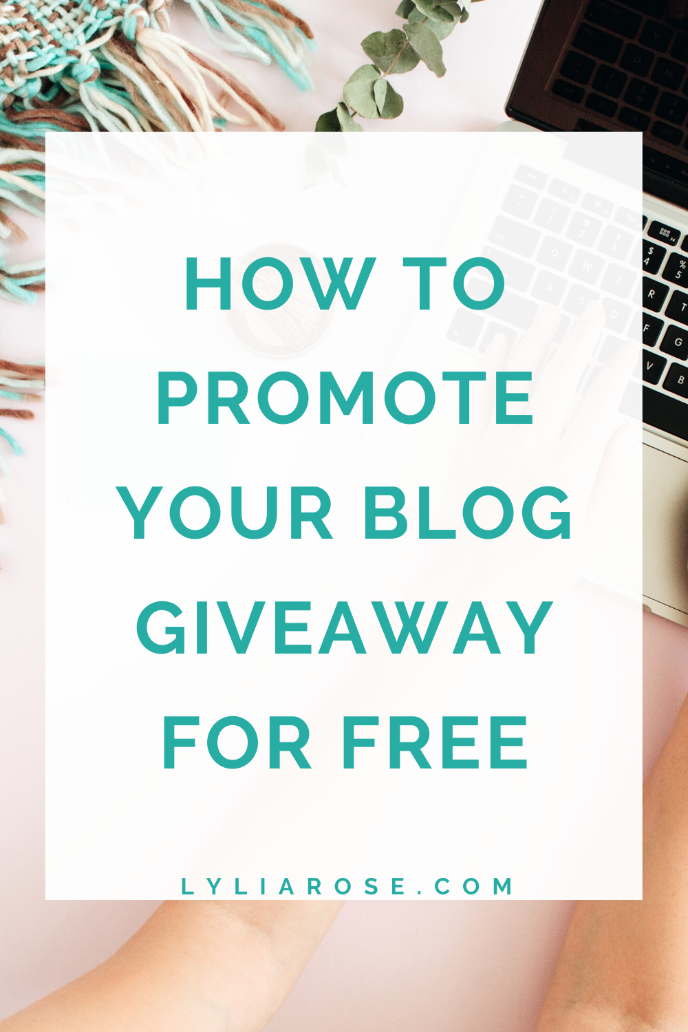 How to promote your blog giveaway for free
