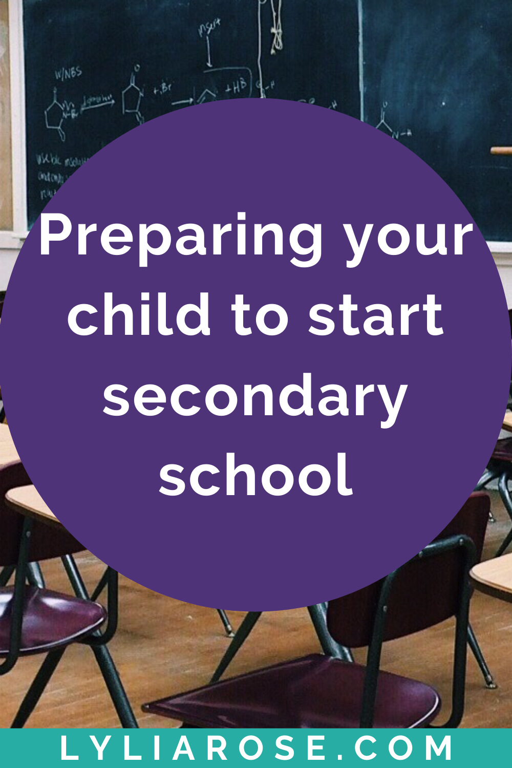 Preparing your child to start secondary school in the summer holidays (1)
