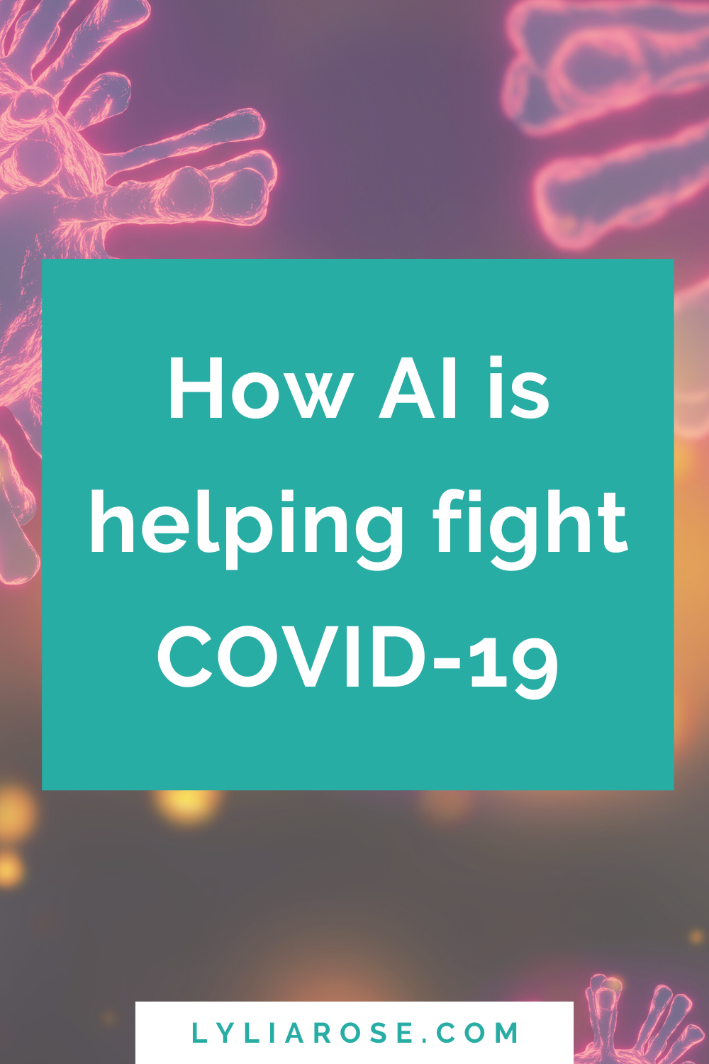 How AI is helping fight COVID-19 (3)